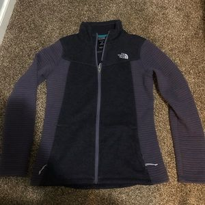 🖤Purple The North Face Jacket Size M